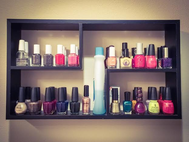 Ellen Tailor Nail Polish Shelf