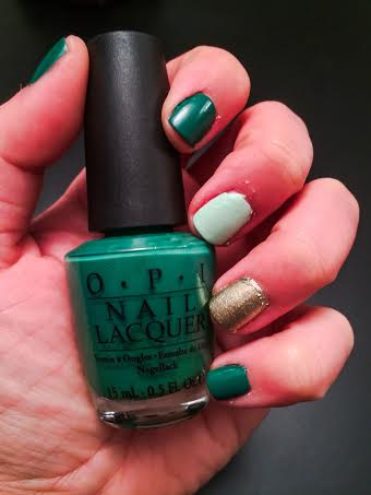 Ellen Tailor St Patricks Day Nails - 1