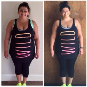 Ellen Tailor Weight Loss Wednesday Month 1 Front