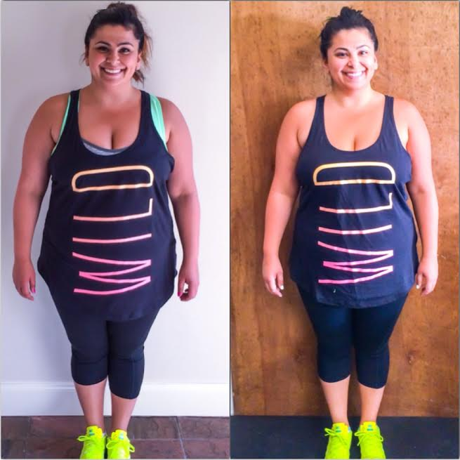 Ellen tailor Weight Loss Wednesday 8 Weeks Front
