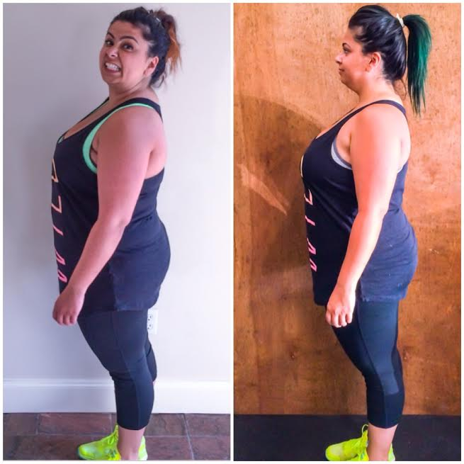 Ellen tailor Weight Loss Wednesday 8 Weeks Side