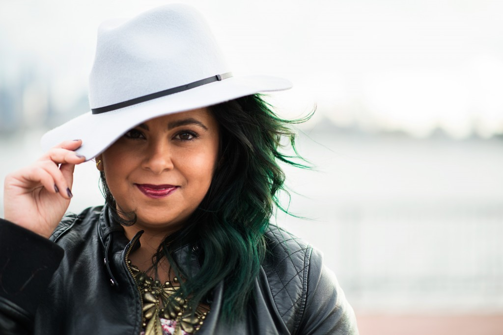Ellen Tailor ASOS Hat Manic Panic Green Hair